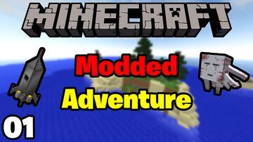 Starting Our NEW MODDED MINECRAFT ADVENTURE Episode 1 Minecraft Blog