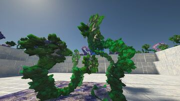 Minecraft - G3N3ZIS HD texture pack. Alien grass. 1024x1024 - SEUS PTGI 12 Minecraft Blog