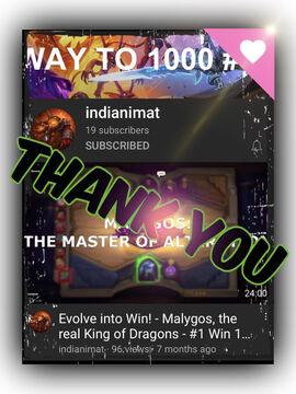 "Thank you, ""indianimat""!!! Minecraft Blog"