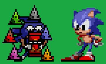 Can somebody make a mod after my Sanic Sprites Minecraft Blog