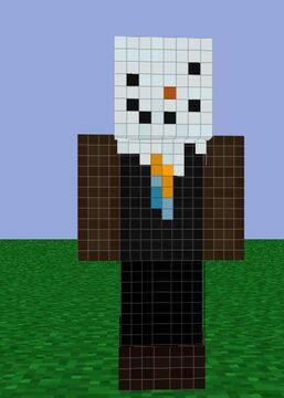 Fish's weird Christmas skin Minecraft Blog