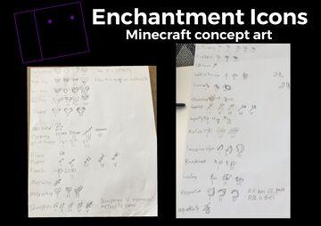 Enchantment icons Minecraft Blog