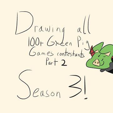 Drawing 100+ GPG Contestants (season 3) Minecraft Blog