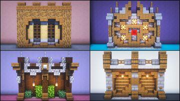 5 Walls Build Hacks and Ideas Minecraft Blog
