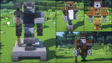 6 Villagers Professions Statues Minecraft Blog