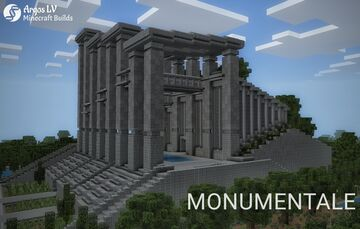 Monumentale; Nature and Concrete Minecraft Blog