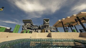Ocean Oasis Screenshot Galleries Minecraft Blog
