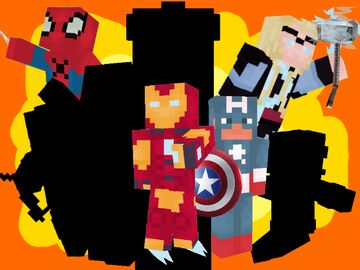 (ON HOLD) 100 MARVEL SKINS Minecraft Blog