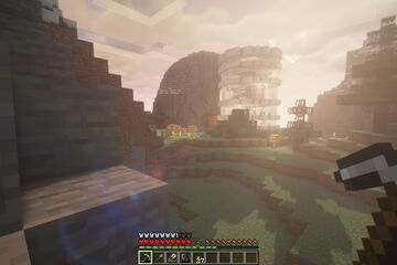 Cylindrical Quartz House in Survival! Minecraft Blog