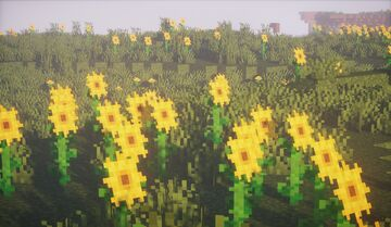 Made some better sunflowers because the current ones just look off Minecraft Blog