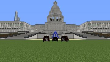 A city with a lot of buildings, Hotel, and Palace. Inspired by The Hunger Games. Minecraft Blog