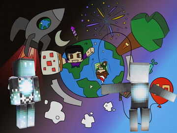 """""""Art"""" thingy's - for 10 years of PMC Minecraft Blog"""