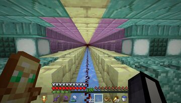 I finally finished decorating my tunnel to the END Minecraft Blog