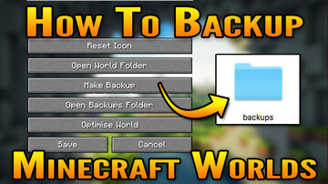 How To Backup (and Restore) Minecraft Worlds Minecraft Blog