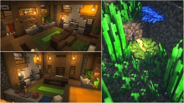 How to Build a Hidden Base (NO REDSTONE) Minecraft Blog