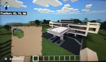 Minecraft Modern Mansion Minecraft Blog