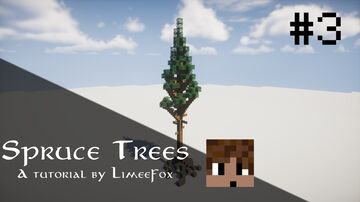How to build a Lodgepole Spruce Tree - Tutorial Minecraft Blog