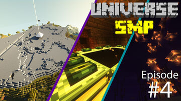ENDER DRAGON FIGHT | UniverseSMP #004 Minecraft Blog