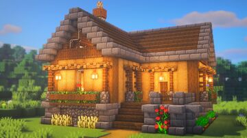 How To Build a HOUSE Minecraft Blog