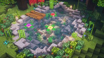 How to Build a Pond Minecraft Blog