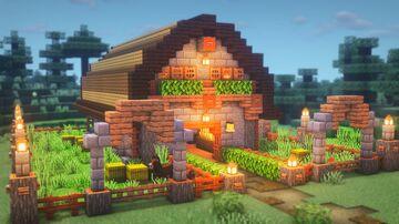 SIMPLE Barn Tutorial Minecraft Blog