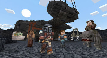 Star Wars Comes to Minecraft in Download Pack That Includes Baby Yoda From 'The Mandalorian' Minecraft Blog