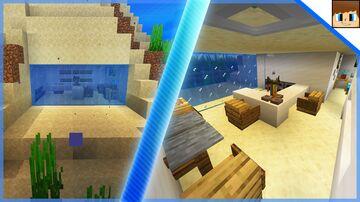 Minecraft - Cool Underwater House Tutorial Minecraft Blog