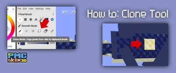 How to: clone tool in PMCskin3D Minecraft Blog