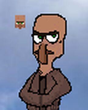 Villager pixel art Minecraft Blog