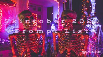 Skintober Event - 2020 Prompt List (popreel) Minecraft Blog