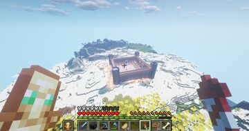 Cool castle build!!!! Minecraft Blog