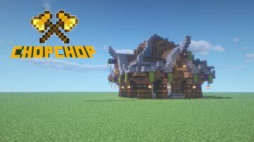 Medium Medieval Shop Minecraft Blog