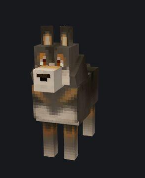 Gray Wolf Model Minecraft Blog