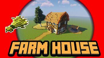 Build Awesome FARM HOUSE! (Minecraft Building Tutorial) Minecraft Blog
