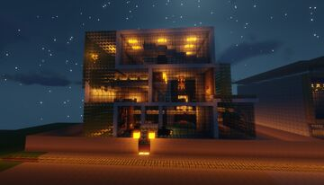 Modern Mansion Minecraft Blog