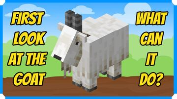 First Look At The Goat & What It Can Do Minecraft Blog