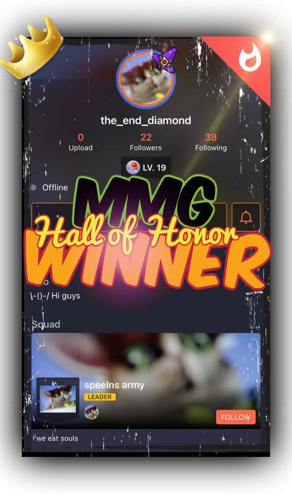 "Popular Blog : Congratulations ""the_end_diamond""!!!"