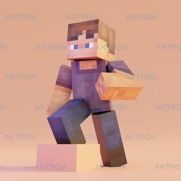 Rig test | Minecraft character render Minecraft Blog
