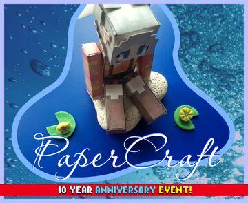 PaperCraft CaraRose ✂️ Minecraft Blog