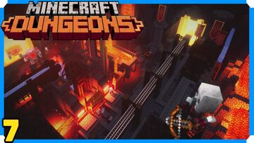 Minecraft Dungeons Full Game Walkthrough | 7 | Fiery Forge Minecraft Blog
