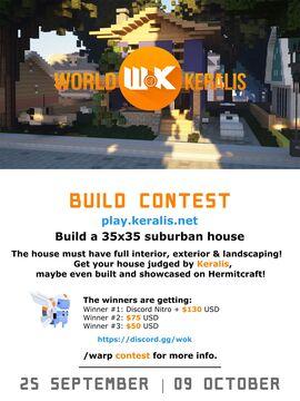 Build Contest - 25 September to 9 October Minecraft Blog