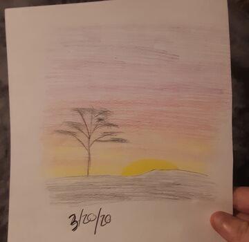 African Sunset Minecraft Blog
