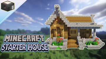 How to build a House in Minecraft (Starter House Tutorial) Minecraft Blog