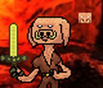I tried creating Piglin pixel art Minecraft Blog