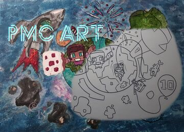 PMC Art Coloring by CaraRose 🎨 Minecraft Blog