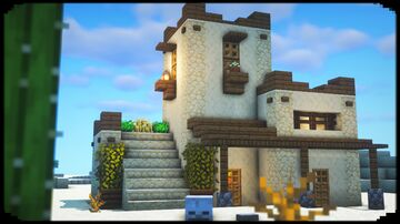 How to Make a Desert House Minecraft Blog