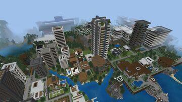Minecraft A Tour Of My Old City World Minecraft Blog