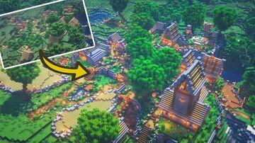Minecraft: Village Transformation Minecraft Blog