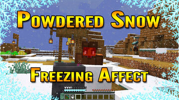 Minecraft 1.17 Cave Update Snapshot 20w46a | Powered Snow and Freezing Affect! Minecraft Blog