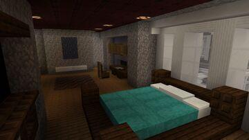 Minecraft Coastal Style Mansion Upstairs Interior Minecraft Blog